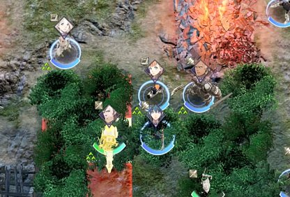 Surround Jeralt With Units