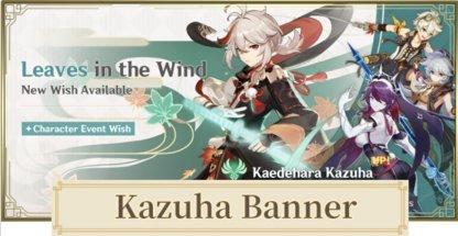 kazuha banner