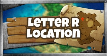 R Letter Location