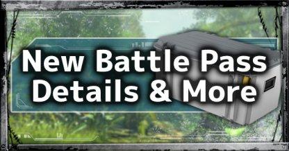 New Season 2 Battle Pass Details, Double XP Weekend & More