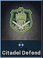 Citadel Defend Emblem