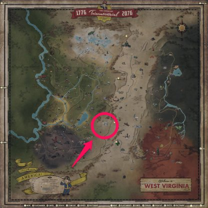 Fallout 76 Vendor Location
