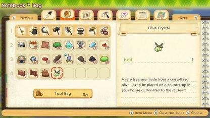 Olive Crystals Information