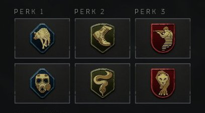All Perk List - Blackout and Multiplayer - Priority To Get