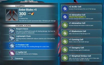 Obtain Perk Cells From Cores