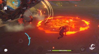 Stones Explode, Creating Fire AoE