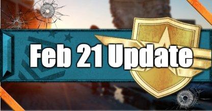 Feb 21 Update World League Update