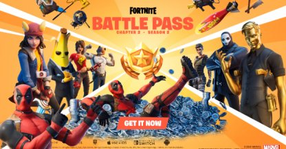 Chapter 2 S2 Battle Pass Rewards