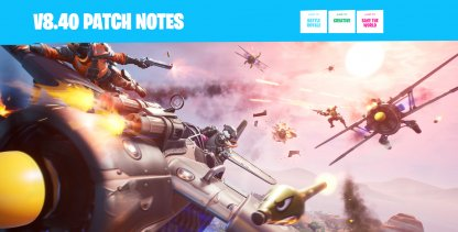 v8.40 Patch Update - Overview