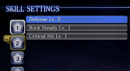 Equip 3 Skills in a Set