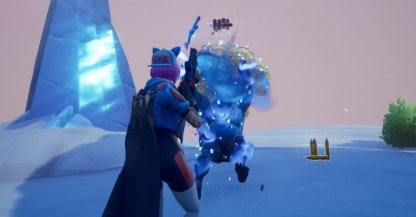 Deal Damage with Shotguns or SMGs - Ice Storm Challenge