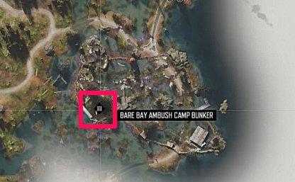 Bunker Is In The West Side Of The Camp