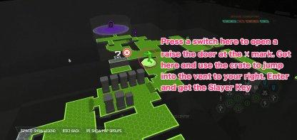 Mission 7 Slayer Gate & Key
