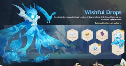 Wishful Drops - Oceanid Event Details