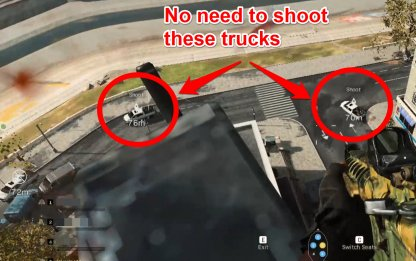 No Need to Shoot Down Other Trucks