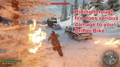 Avoid Riding Through Fire