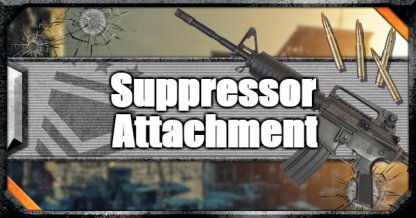 Call of Duty Black Ops IV Weapon Attachments Suppressor
