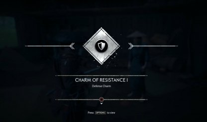 Receive Charm of Resistance I