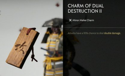 Receive Charm Of Dual Destruction II