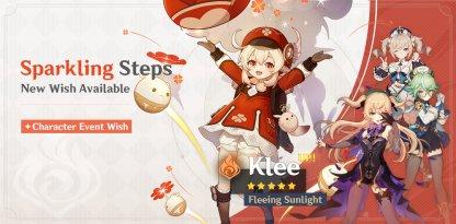 Klee Rerun Banner