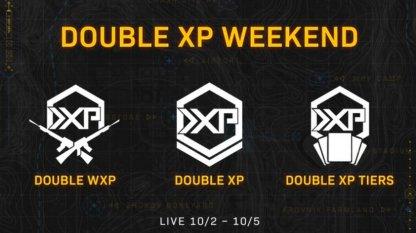 2XP, Weapon XP, Battle Pass Progress This Weekend!