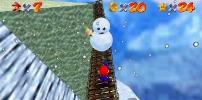 Walk Under Snowman