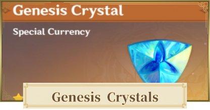 Genesis Crystals