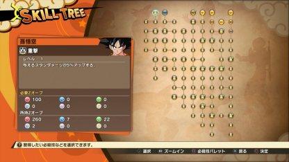 Skill Tree Goku