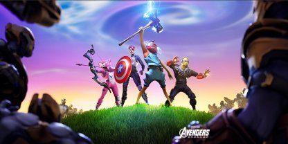 Fortnite x Avengers: Endgame Collaboration Event