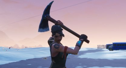 Fortnite Battle Royale Week 4 Challenges Pickaxe Damage Challenge