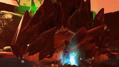 Rockfall Skarn Has More Painful Rock Tornado