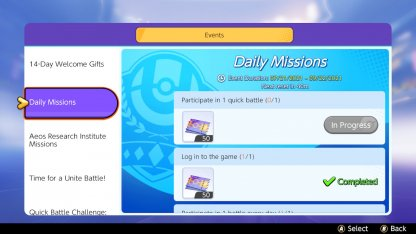 Daily Missions