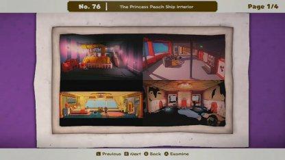 The Princess Peach Ship Interior