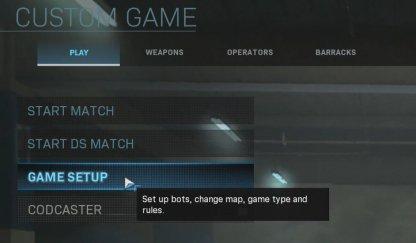 Set Up Bots At Game Setup