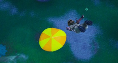 Bounce Off A Giant Beach Umbrella In Different Matches - 14 Days Of Summer