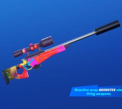 CARNAVAL CONFETTI Wrap - Sniper Rifle