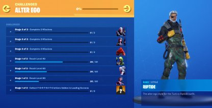 New Battle Pass Challenges & Mission