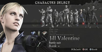 Select Character To Use