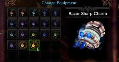 Razor Sharp Charm