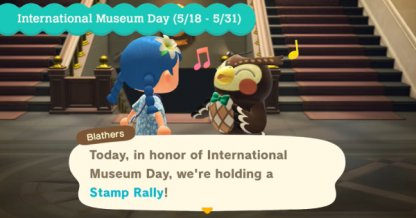 Special Stamp Rally In The Museum