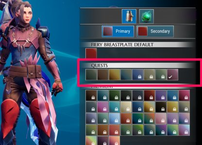 Dauntless | About Cosmetic Skins - How To Get Transmog, Dyes
