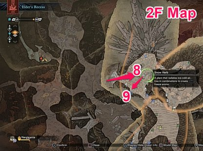 Climb Up To 2F Near Where Kushala Sleeps