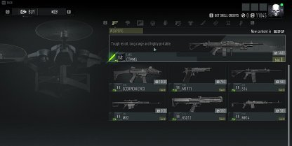 Purchase Weapons & Gear In Shop