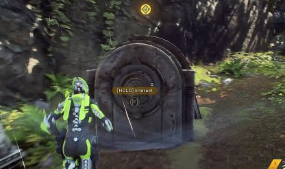 Anthem Follow Marker To Locate The 2 Generators