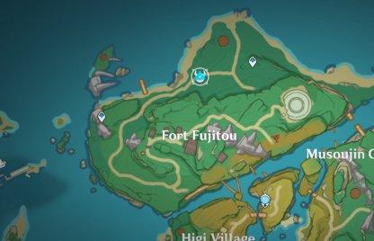 North Of Fort Fujitou