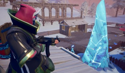 Fortnite Ice Storm Challenges Destroy an Ice Shard in Different Matches