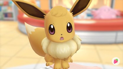 Eevee Puffy Hair