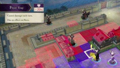 The Siege of Arianrhod Battle Tips - Trap Floor
