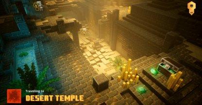 clear desert temple first