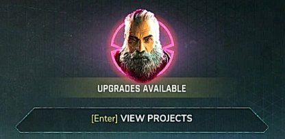 Projects Are Unlocked Via Certain NPC